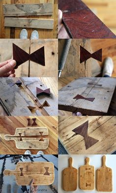from broken woods to cutting boards Small Wood Projects, Woodworking Projects That Sell, Craft Projects, Wood Crafts, Diy And Crafts, Japanese Joinery, Wood Projects For Beginners, Wood Joints, Wood Design