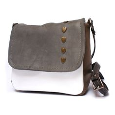 Mini leather messenger bag messenger purse.