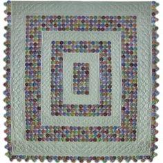Boston Yo-Yo's Quilt Pattern