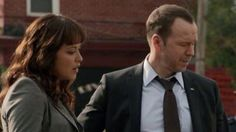 Donnie Wahlberg and Marisa M Ramirez as Det. Danny Reagan and Det. Maria Baez