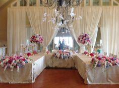 Head Table - Designs by Crest Florist