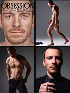 Michael Fassbender. -- Eggs and I agree, Fassy is sexy!