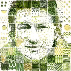 Jamie Oliver Portrait by red Hong Yi Creative Artwork, Jamie Oliver, Something Beautiful, Creative Inspiration, Art Pictures, Food Art, New Art, Artsy, Drawings