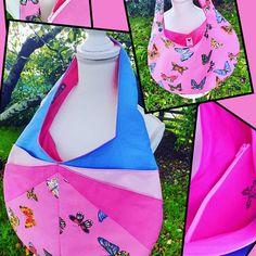 Aiguilles et Paillettes sur Instagram: A découvrir dimanche au marché artisanal de La Bergerie ! Modèle Candy de @patrons_sacotin avec en prime sa pochette zippée…