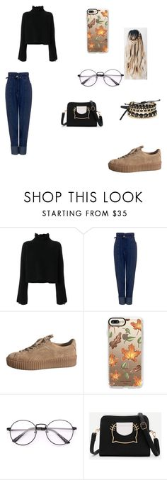 """Sem título #306"" by kamillylima ❤ liked on Polyvore featuring Golden Goose, Rachel Comey, Casetify and Avon"