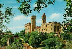 Castello dei Conti della Gherardesca a Bolgheri (LI)