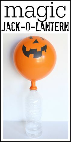 This is a super-fun Halloween twist on our Fizzy Balloons experiment. It has been quite a while since we have done this experiment, so the boys had