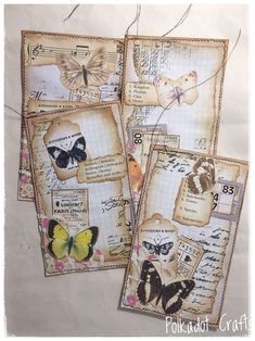 Excited to share this item from my shop 4 Sewn Altered Junk Journal Envelopes Vintage Botanic Journal Pockets Collage Scrapbook Butterfly Garden Ephemera Nature Journal Art Journal Pages, Journal Cards, Atc Cards, Art Journals, Altered Books Pages, Vintage Crafts, Vintage Paper, Nature Journal, Scrapbook Embellishments
