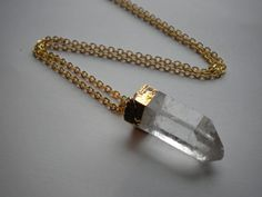 Crystal amulet