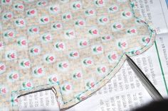 Quilted Patchwork Pouch. DIY Tutorial in Pictures.