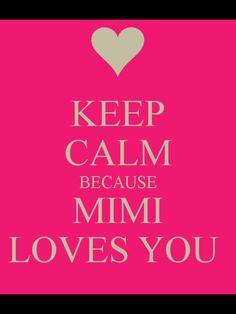 For my Precious Princess - Mimi loves you so much!