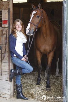 Senior Pictures with Horses   Metro Detroit Photographer senior pictures horses michigan detroit 20131015h