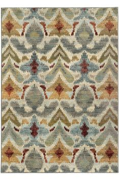 Jules Area Rug - Machine-made Rugs - Synthetic Rugs - Southwestern Rug | HomeDecorators.com