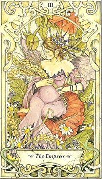 Mystic Faerie Tarot: The Empress
