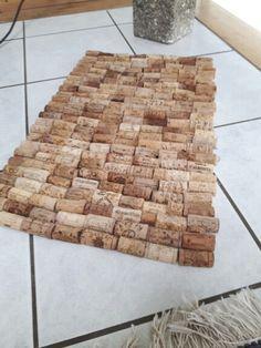 Fußmatte aus Weinkorken                                                       …