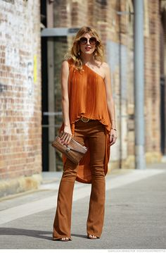 #TanyaGacic looking totally fab in Sydney.