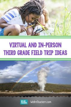 Check Out These Virtual and In-Person Third Grade Field Trip Ideas. For the best third grade field trips, look no further than this list with both virtual and in-person options for social studies and science learning. #thirdgrade #virtualfieldtrips #educationalresources #teachingresources #socialstudies #classroom #onlinelearning #fieldtrips Social Studies Projects, Science Projects, Back To School Bulletin Boards, Virtual Field Trips, Third Grade Science, Physics Classroom, Hands On Activities, Elementary Schools, Forensic Anthropology