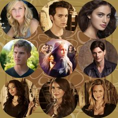 The secret circle----- Cassy , Adam, Faye, Jake, Charles, Melissa, Diana, Dawn