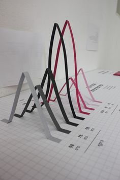 Keren shalev infographic, paper craft. 3D graph! cool project. (do a survey, and graph results?)