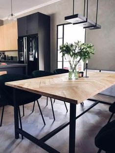 Fish table - step by step (Josefin Lustig)- Fiskbensbord – steg för steg (Josefin Lustig) Fish table – step by step - Interior Design Kitchen, Kitchen Decor, Interior Decorating, Home Staging, Dining Room Table, Home Decor Inspiration, Kitchen Remodel, Sweet Home, House Design