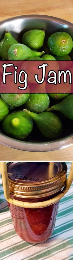 Figs make a beautiful, summery jam, and because they are so naturally sweet, they require little sugar.