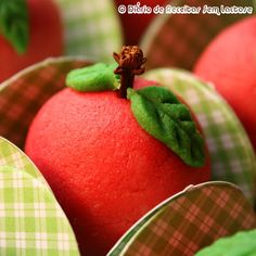 How to make Marzipan Apples - Recipe and Tutorial
