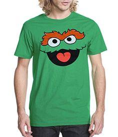 Sesame Street Oscar The Grouch Face Adult T-Shirt-Small S... https://www.amazon.com/dp/B00KUIQPIS/ref=cm_sw_r_pi_dp_x_kdCgzbWTC7PBZ