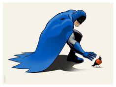 Batman and Robin by Michael Crutchfield