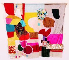 Kindah Khalidy sewn tapestry at OGAARD Textile Work