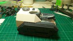 Semi-Scratch Built Gun Carriage