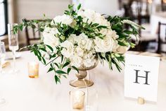 Connecticut Wedding and Event Florist Floral Centerpieces, Floral Wedding, Mystic, Florals, Table Decorations, Weddings, Home Decor, Homemade Home Decor, Flowers