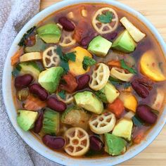 Summer Vegetable Soup – Zest My Lemon