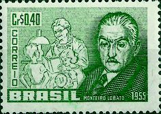 Selo - Monteiro Lobato - 1955.jpg (1417×1003)