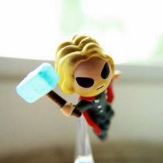 Incoming!  Thor to the rescue.  #Avengers