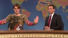 Stefan from SNL is my all time favorite character!! He always makes himself laugh. Lol.