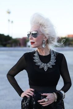 » Stylish seniors: how to look fashionable after 70 years /Lady Ladies -woman,politics,fashion,love