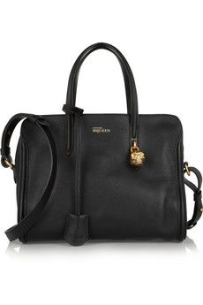 Alexander McQueen Padlock small leather tote | NET-A-PORTER