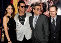 """Olivia Wilde, Jim Carrey, Steve Carell, and Steve Buscemi attend the premiere of Warner Bros. Pictures' """"The Incredible Burt Wonderstone"""" at TCL Chinese Theatre Health Guru, Health Class, Health Trends, Steve Buscemi, Steve Carell, The Incredible Burt Wonderstone, Womens Health Magazine, Health Tips For Women, Olivia Wilde"""