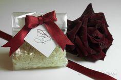 Bustine Porta Riso #weddingday http://www.mirtiemelograni.it/prodotti/riso-e-portariso/bustine-di-acetato-detail.html#