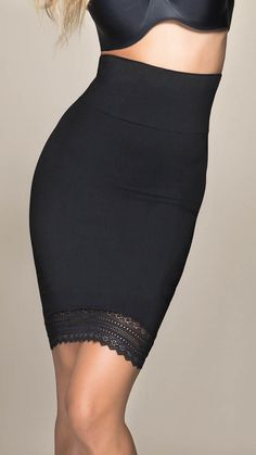 Love this seamless body shaper from Scala Shapewear.
