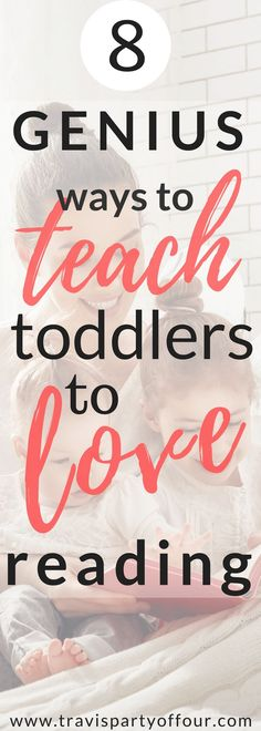 Toddler activities- Encourage a love for reading at a time when your toddler's literacy skills really begin to show themselves. Here are 8 quick tips!