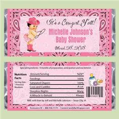 217 Best Baby Shower Candy Bar Wrappers Images In 2019 Baby Shower