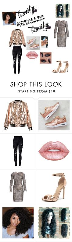 """""""Untitled #127"""" by jaylonda ❤ liked on Polyvore featuring beauty, Sans Souci, Lime Crime, Michael Kors and Verali"""