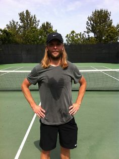 James VALENTINE. His sweat mark is too perfect!