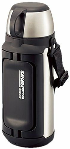 "Tiger Stainless Steel Thermal Water Bottle Mhk-a150-xc 1500ml by Tiger. $98.00. caliber:7.0cm:. 6hours incubation effect:80 degrees or mor. 24 hours incubation effect:More than 57 degrees. 6 hours cold storage effect:Than 8 degrees. ""Tiger Sahara Stainless Steel Bottle Stainless Steel 1.49L MHK-A150-XC Clear"" is a type of large capacity stainless steel bottle. Wide-mouth type of 7cm diameter Easy to enter, but with-handle wing that can accommodate even large ice...."
