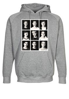 Viners Jack Gillinsky Carter Reynolds Nash Grier B/W Hooded Sweatshirt