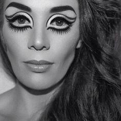 """Liquid Liner Perfectionist""  Makeup/Photographer: Sara Steller  Twitter/Instagram: @sarasteller"