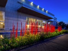 Red Reeds - Chihuly Exhibit, Virginia Museum of Fine Art, Richmond, VA