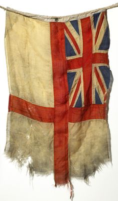 Gorgeous old Union Jack and cross of St. George