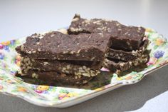 Raw Coconut and Almond Slice